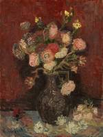 Vincent van Gogh, Vase with Chinese asters and gla