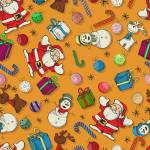 """Seamless Christmas pattern design"" by lirch"