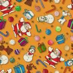 """Seamless Christmas pattern design"" by lirch"