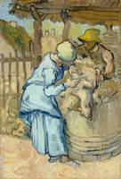 Vincent van Gogh, The sheep shearer