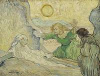 Vincent van Gogh, The raising of Lazarus