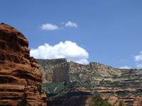 Blue Skies in Sedona