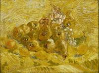 Van Gogh,Quinces, lemons, pears and grapes