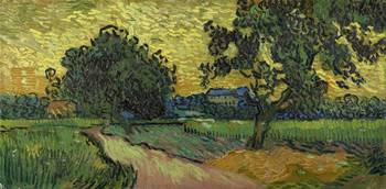 Van Gogh, Landscape at twilight