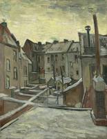 Van Gogh, Houses seen from the back