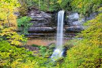 Munising Falls in the Upper Peninsula of Michigan