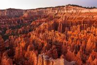 DAWN AT BRYCE CANYON