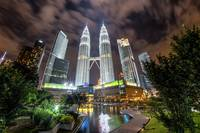 Malaysia Petrronas Towers Long Exposure HDR copy