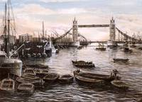 Tower Bridge about 1937
