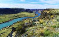 A View Of The Snake River In The Lands Of The West