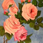 """PINK ROSES II"" by ROFFEART"