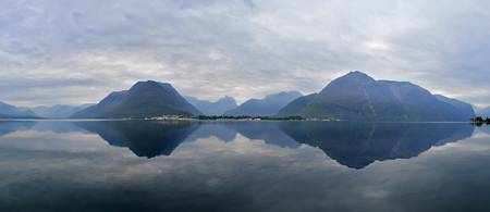 Reflections of Romsdalsfjorden
