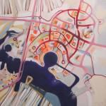 """imaginary map ob Abu Dhabi"" by federicocortese"