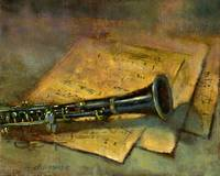 Clarinet by Hall Groat II - www.HallGroat.com