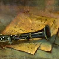 Clarinet by Hall Groat II - www.HallGroat.com Art Prints & Posters by Hall Groat II