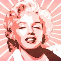 Marilyn Monroe - Pop Art - Digital Art