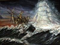 The Flying Dutchman Ghost Ship