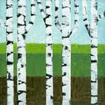 """Summer Birch Stand"" by Michelle1991"