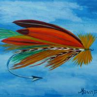 dry fly Art Prints & Posters by Anthony Dunphy