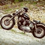 """Harley Davidson Ironhead Sportster XLH 1975"" by badboo"