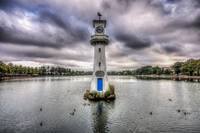 Scott Memorial Lighthouse Roath Park Cardiff