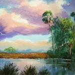 """Florida Wilderness Painting"" by mazz"
