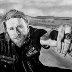 """Sons of Anarchy"" by iconicarts"
