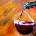 """Red Wine Pour"" by iconicarts"