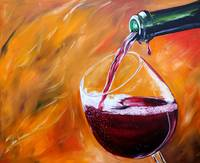 Red Wine Pour