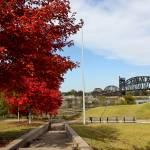 """Junction Bridge Pedestrain Walkway"" by picturesbybgale"