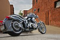 Custom Harley Davidson 'Alley Cat'