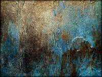 Abstract Painting, OXIDIZED by Holly Anderson