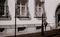 streetscape, ironwork, freiburg germany