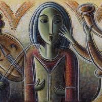 Quintet Art Prints & Posters by Nancy Hannans