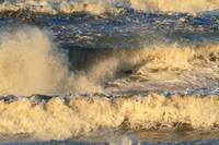 Storm Waves at the Beach
