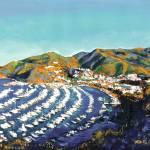 """""""Avalon Harbor Santa Catalina Island"""" by BeaconArtWorksCorporation"""