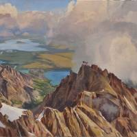 View from the Summit of the Grand Art Prints & Posters by Joe Arnold