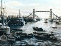 Tower Bridge & The Upper  1932