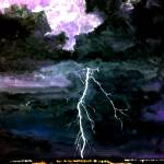 """Thundering and Lightning"" by cneartgallery"
