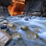 """Zion Narrows - Vertical"" by almarphotography"