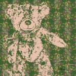 """Vintage Teddy Bear Art"" by GinetteCallaway"