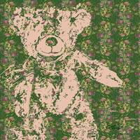 Vintage Teddy Bear Art