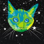 """planet kitten poster"" by mattmawson"