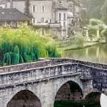 """Bridge at Brantome"" by mjphoto-graphics"