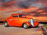 1934 Ford 'Copper Rod' Coupe I