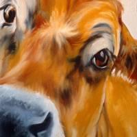 MY JERSEY COW SWEET EYES by Marcia Baldwin