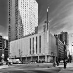 """Manhattan Temple Black and White"" by dbwalton"