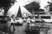 Rainy day , Street Photography Singapore