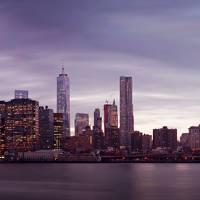 New York City Panorama Art Prints & Posters by Nina Papiorek