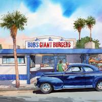 Bob's Giant Burgers Art Prints & Posters by Bill Drysdale